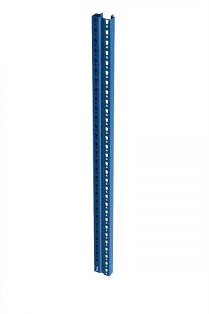Palettenregal Ständer - 10068204050, Höhe 7500 mm, capriblau - RAL 5019