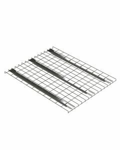Palettenregal Regalboden für 40 mm Traversentiefen, Gitterboden, Breit 880 mm, Tief 1100  mm