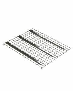 Palettenregal Regalboden für 50 mm Traversentiefen, Gitterboden, Breit 880 mm, Tief 1100  mm