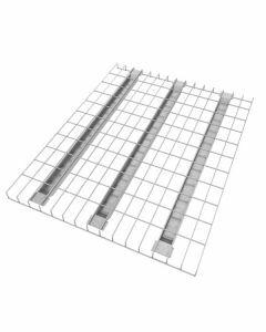 Palettenregal Regalboden für 50 mm Traversentiefen, Gitterboden, Breite 880 mm, Tiefe 1100 mm