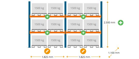 Palettenregal-Schwerlastregal-konfigurieren-NEDCON